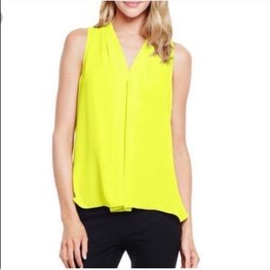 VINCE CAMUTO Bright Yellow Blouse